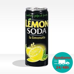 LEMONSODA LATTINA - Formato 0,33 lt