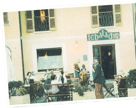 Una fotografia del locale Le Baladin nel 1986 quando aprì