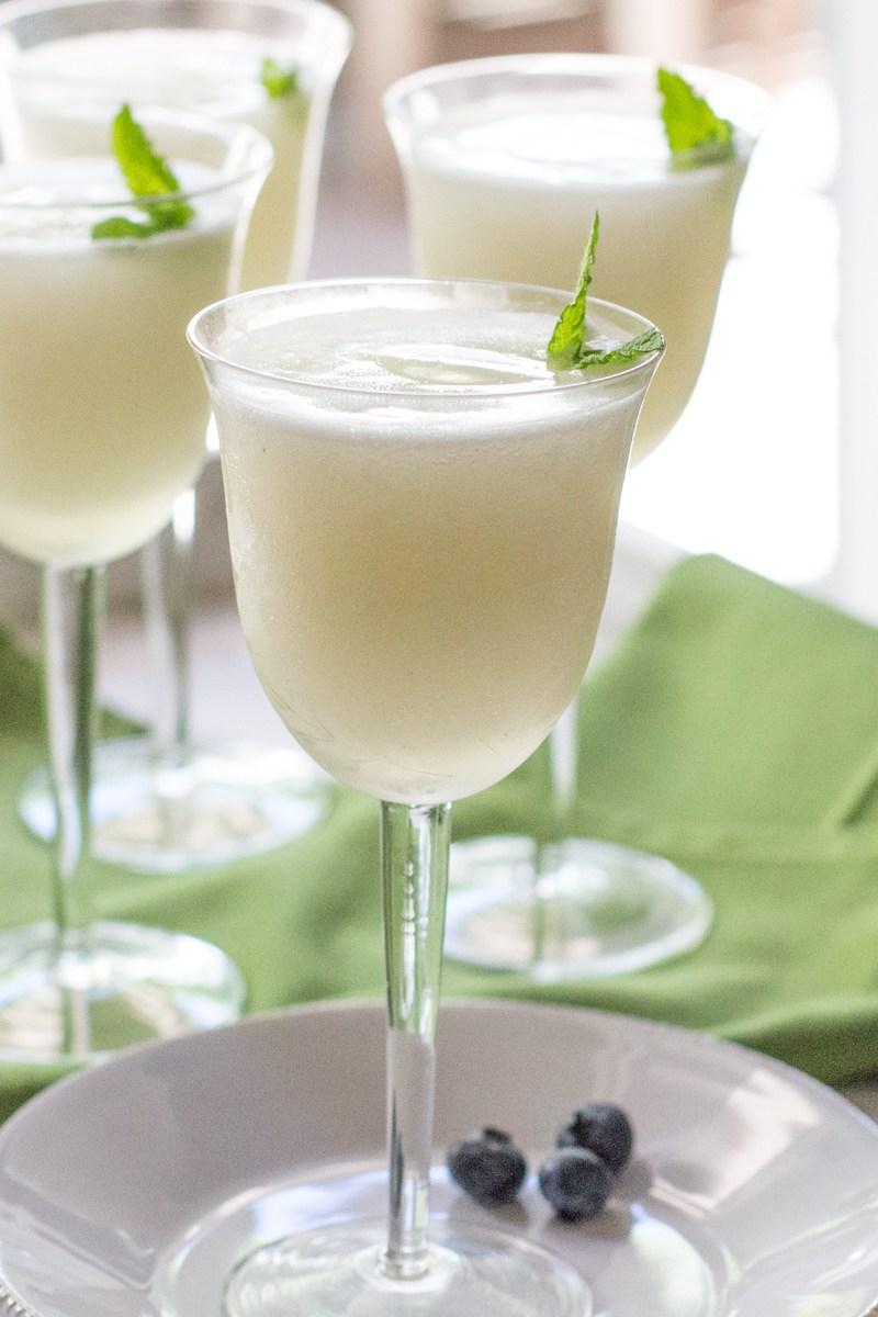 Sorbetto al limone e prosecco, il Lemon Sherbet