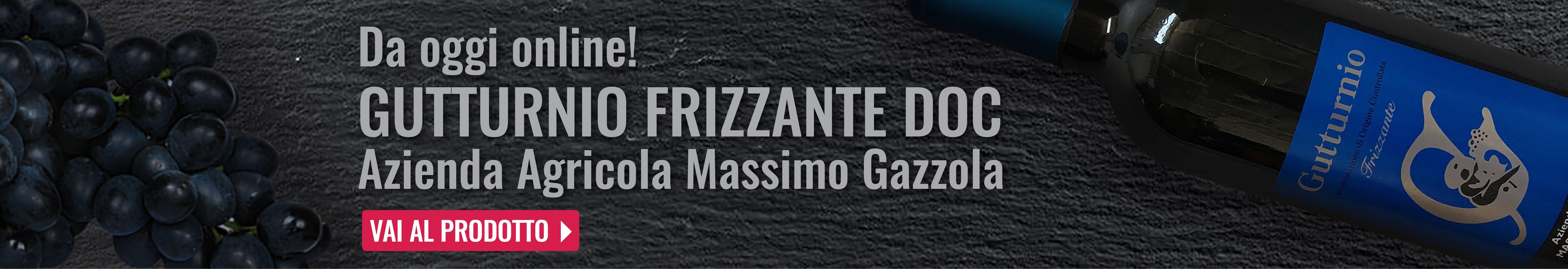 Gutturnio frizzante DOC Azienda agricola Massimo Gazzola